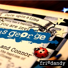 doodle gallery - gorgeous george invitation
