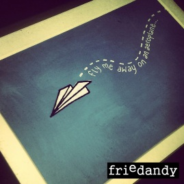doodle gallery - paper plane