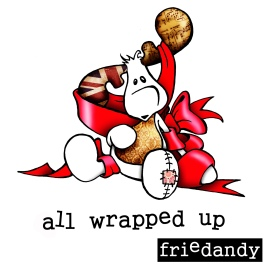 doodle gallery - raymond wrapped up